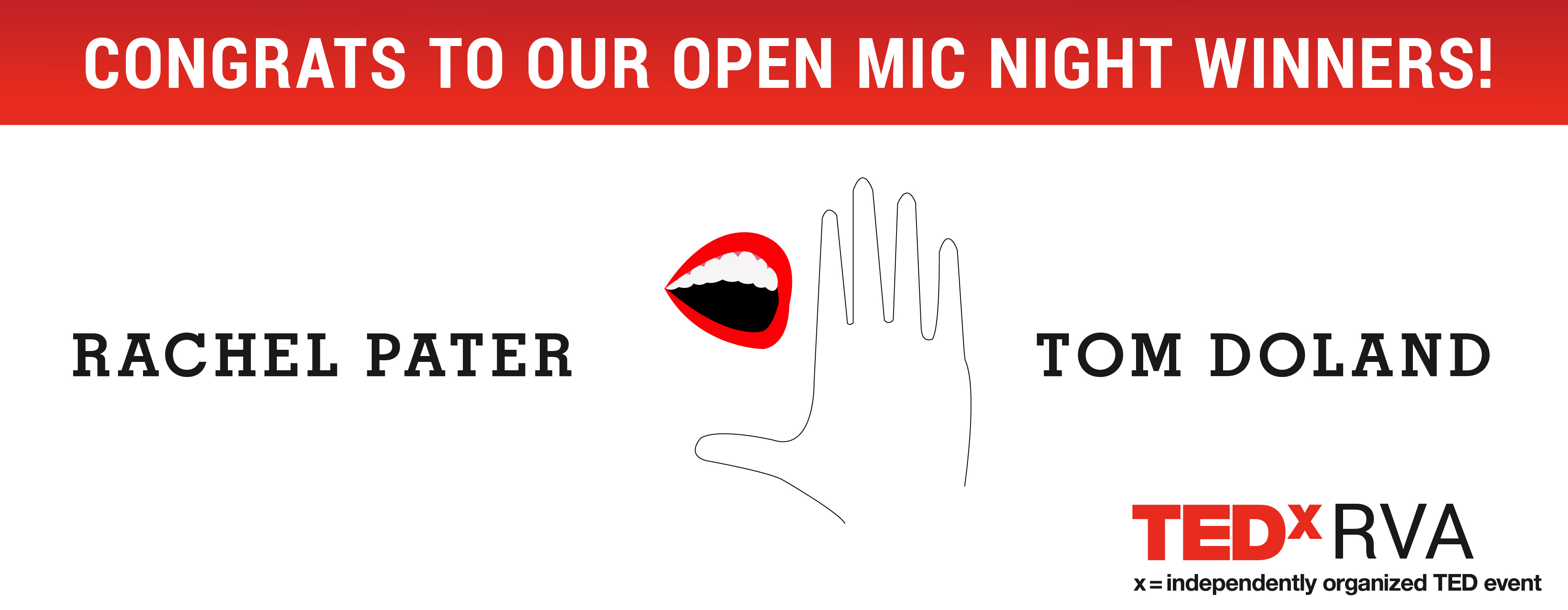 TEDxRVA Open Mic Night March 16 & March 22
