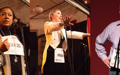 A Look Back at This Year's TEDxRVA Open Mic Nights