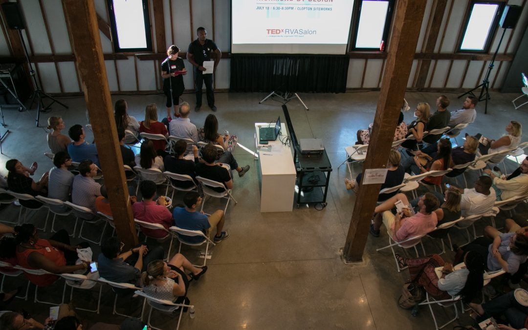 July 2017 TEDxRVA Salon: Richmond by Design